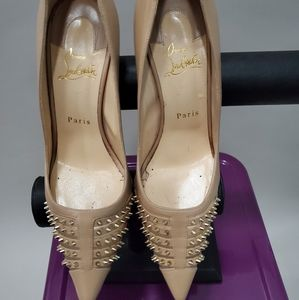 Christan Louboutin Spike heels